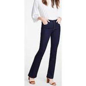 Ann Taylor Curvy Straight Boot Jeans